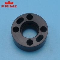 Custom Made High Precision Cnc Machining Circle Plastic Turning Spare Mechanical parts Fabrication Service