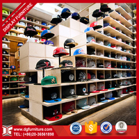 customized latest design floor stand hat display