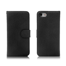 Cross Texture Wallet Stand Style Flip Cover PU Leather Case for iPhone 7