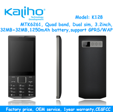3.2inch GSM big screen feature phone with cheapest price