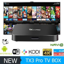 Many port on the box internet of things play store to download games 4k tv fully loaded 4K TV BOX