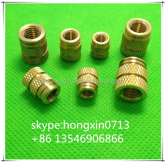 knurled nuts with collar