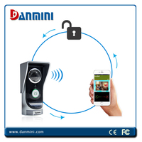 Danmini Smart Doorbell Free Android & iOS APP controlled via smart phone