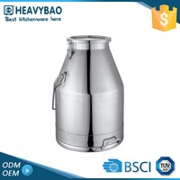 Heavybao Super Quality Stainless Steel Milk Keg Bottle Storage