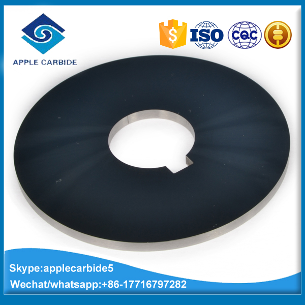 manufactured tungsten carbide circular cutter/circular knife