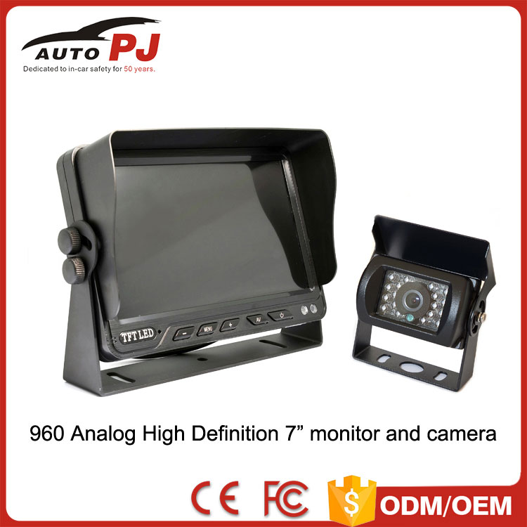 analog high definition 960P car reversing AHD monitor and backup camera