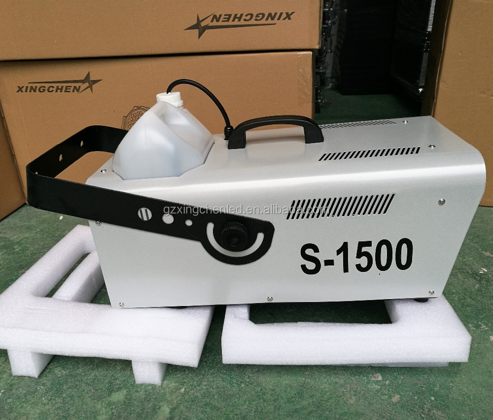 1500W Stage effect DMX snow machine apply to dj party wedding equipment