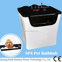 2017 new dog washing machine,popularity size dog grooming bathtub MG777