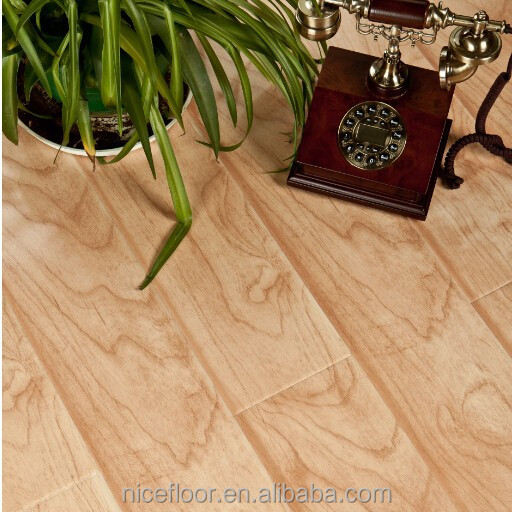 N1207 Laminate Flooring HDF core embossed engineered wood laminate