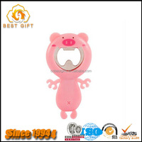 Custom High Quality Pvc Cute Magnetic Bottle Openers Cat Opener