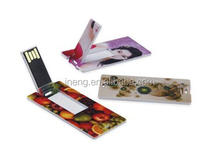 Promotional Mini card custom USB Flash Drive 1GB 8GB 16GB 32GB low price