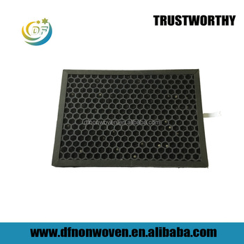 Odor remove Pm2.5 HVAC industrial honeycomb granule active carbon air filter for alibaba china supplier
