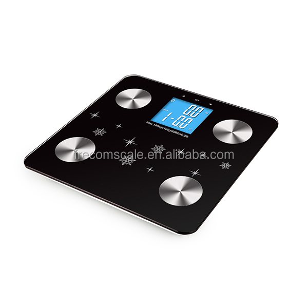 electronic Body Fat Scale for human body composition analyze electronic body fat balance