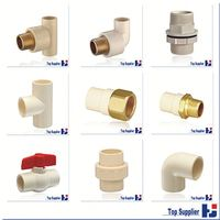 pvc water supply popular plastic all size pipe fitting