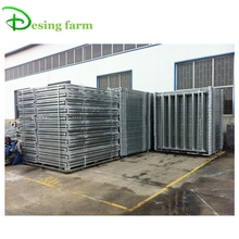 Galvanized metal livestock farm fence cattle panel
