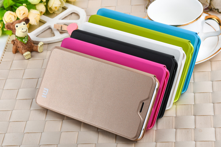 xiaomi redmi note2 flip leather case,redmi note2 leather cover