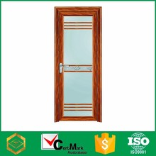 Wood Grain Shower Glass And Safety Door Picture Factory