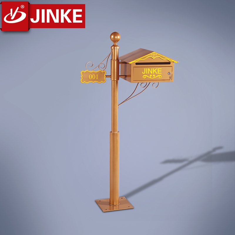 Wholesale Decorative Free Standing Stone Mailbox