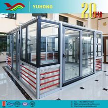 2016 new product low prices flexible designs sound insulation insulated glass garage door