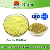 Food Supplement Sophora Japonica Extract Rutin Powder 98% by HPLC