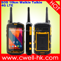 Rumbo x5 Waterproof Mobile Phone Upgraded Version Runbo Q5 4G LTE Smartphone with NFC UHF/VHF Walkie Talkie
