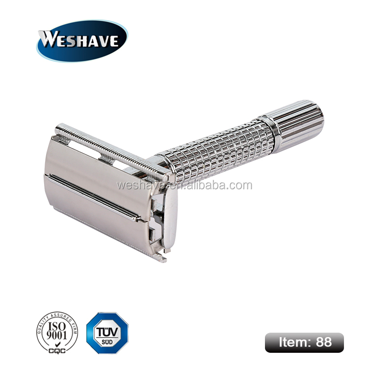 butterfly screw open safety razor with gift box
