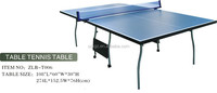 Wholesale sports equipment wood table tennis table 2016