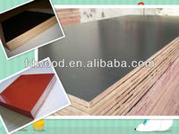 1250 x 2500 mm wbp melamine glue 18mm black brown film faced plywood