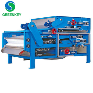 Automatic Food Juice Dewatering Machine Belt Filter Press