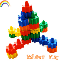 Construction Block Set Type Toy,Educational Block Set Type Plastic Building Block Set