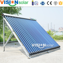 Hot water, pool, space heating heat pipe collector solar water heater hotel