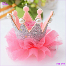 Free Shipping by DHL/FEDEX/SF Cute Baby Girls Crown Princess Lace Pearl Shiny Star <strong>Headband</strong>