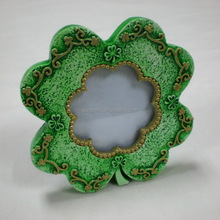 Poly Photo Frame/Shamrock