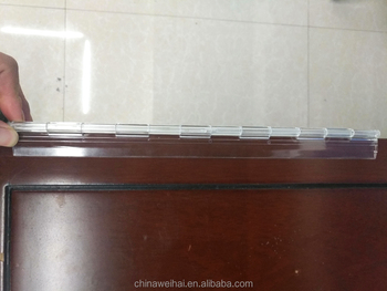 30cm Long Clear Acrylic Materials Door Hinge