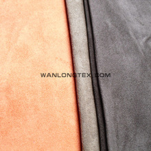 100% polyester 105D*300D black yarn added first second class suede blackout fabric for curtain