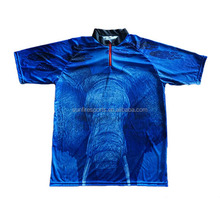 manufacturer sublimation sport polo shirt custom made from china