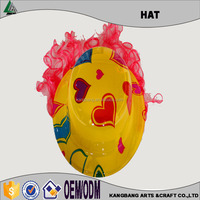 Hot Selling Sweet Heart Printed Plastic Party Plastic Wig Hats,PVC Hats for Decoration,gorros,polo cap,gorras,caps,snakbacks,