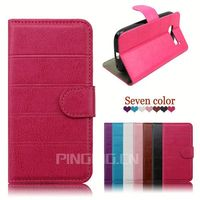 for Asus Zenfone 2 case, book style leather flip case for Asus Zenfone 2