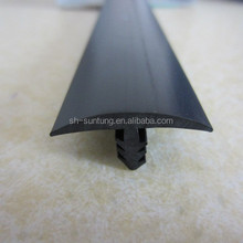 plastic soft T shaped edging trim strips for table furniture