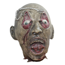 X-Merry Horror Rubber Latex Scary Foam Ghost Head Performance Prop Halloween Mask For Sale