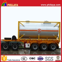 20ft ISO CE Tank Container Special Container Cooking oil tank container