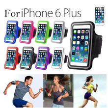"Hot selling Sport Gym Running Adjustable Armband Case For iPhone 6 Plus 5.5"" / Galaxy Note 2 Note 3"