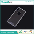 Crystal TPU and PC anti-scratch shockproof case for iphone8