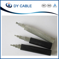 0.6/1KV xlpe aerial bundled cable 1/0 2/0 2 4 6 AWG cable