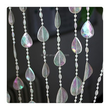 Hanging Chinese crystal bead curtain for home decor