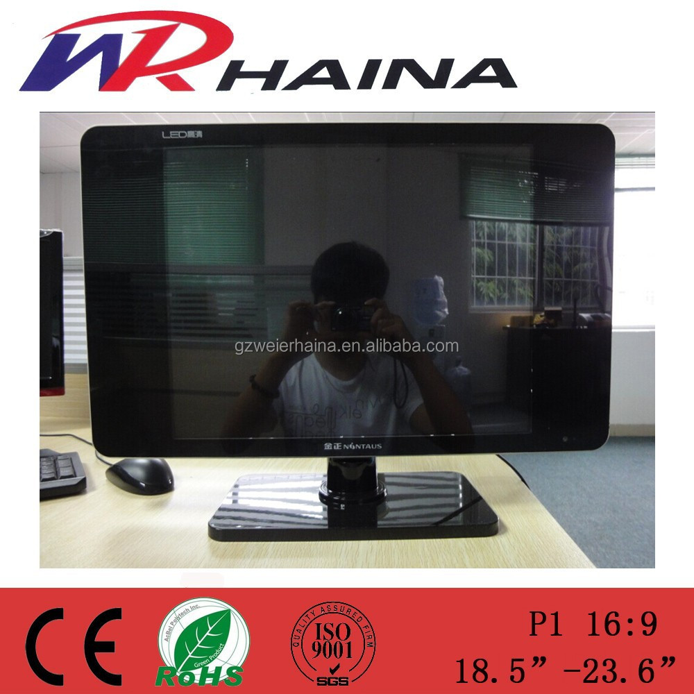 Open cell glass second hand A grade panel 15/17/19/22/24 inch led tv korea