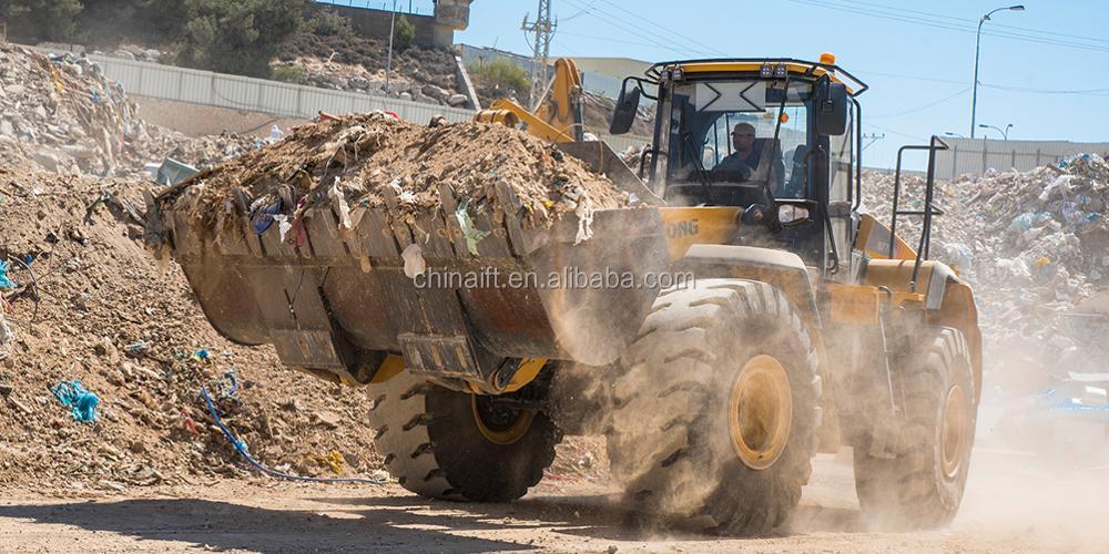 The high strength work bulldozer SL50W - 2