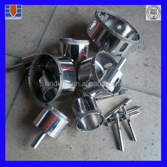 Glass Drilling Use And Center Drill Bit Type Electroplate Diamond Core Drill Bit