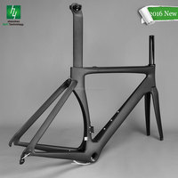 Hot sale carbon aero road frame 2017 super light carbon road bike frame
