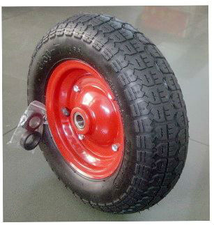 350-7 pneumatic rubber wheel and Small wheels